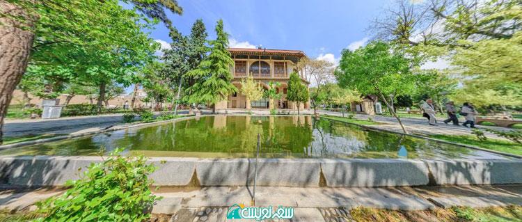 کاخ چهل ستون (عمارت کلاه فرنگی) قزوین