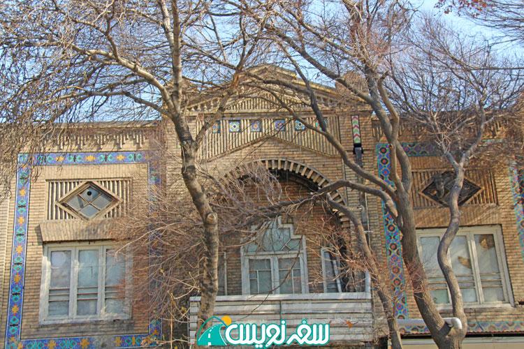 آغار تخریب، عمارت تاریخی تابان