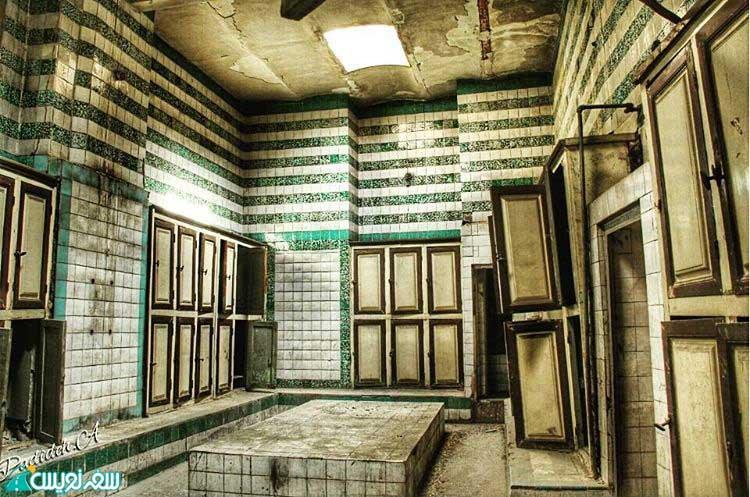 رختکن حمام کشوریه سلیمانیه (عکس پدیده عنقا)