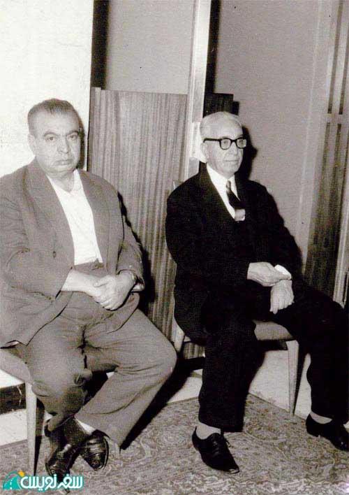 سمت چپ آقای سلیمان سنه بانی حمام سلیمانیه (کشوریه)