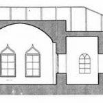 پلان و نقشه عمارت شرقی نیایشگاه آدریان (آتشکده تهران)