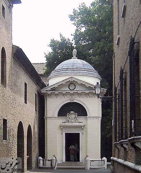 کلیسای سان فرانچسکو Basilica di San Francesco محل دفن دانته آلیگیری Dante Alighieri
