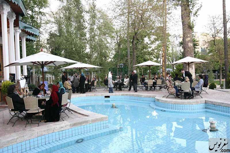 خانه و اقامتگاه تابستانی سپهبد امیراحمدی (باغ موزه هنر ایرانی)
