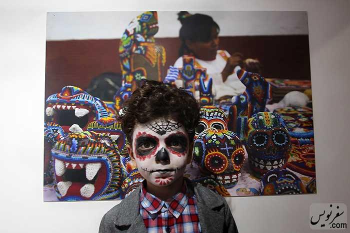 عکسهای منتخب روز مردگان و کودکان