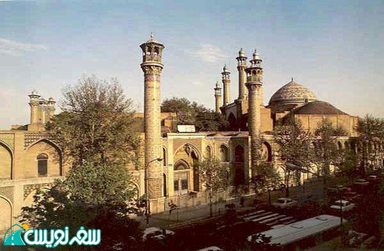 مسجد سپهسالار (مسجد مطهری)