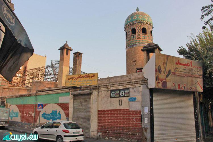 """""""پرسه در رگ های تهران"""" پرسه نهم؛ از باغ منیرالسلطنه تا راه آهن"""