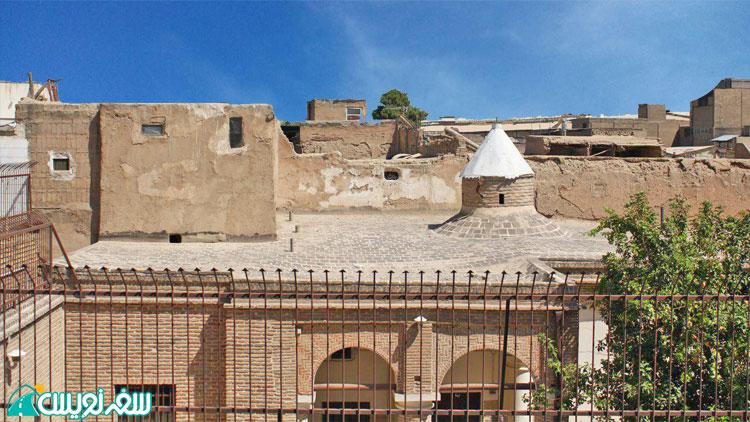 سقف قذیمی ترین کلیسای تهران؛ تادئوس و بارتوقیمئوس مقدس