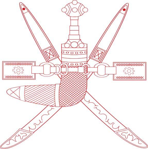 نماد ملی و پرچم کشور عمان