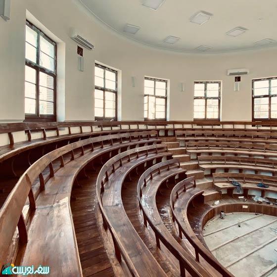 سالن دانشسرای مقدماتی (عالی) و اولین دارالمعلمین مرکزی ایران، دانشگاه تربیت معلم کشور یا دانشگاه خوارزمی