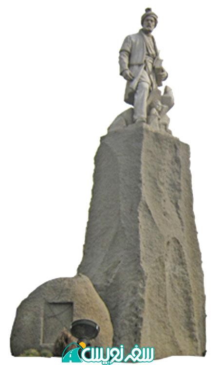 مجسمه میدان فردوسی اثر استاد ابوالحسن صدیقی