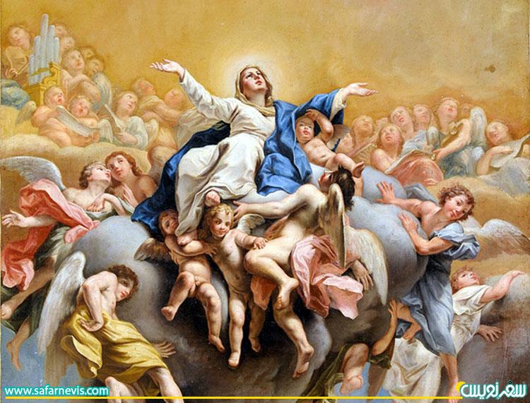 عید حضرت مریم یا جشن عروج مریم