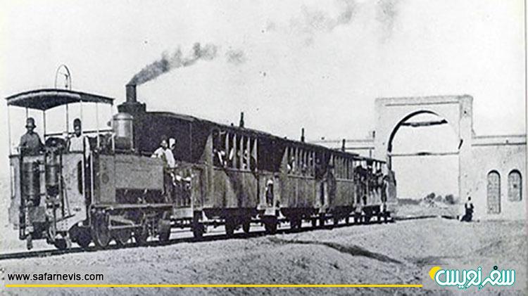 اولین خط آهن ایران، خط آهن؛ تهران به شاه عبدالعظیم حسنی در ری