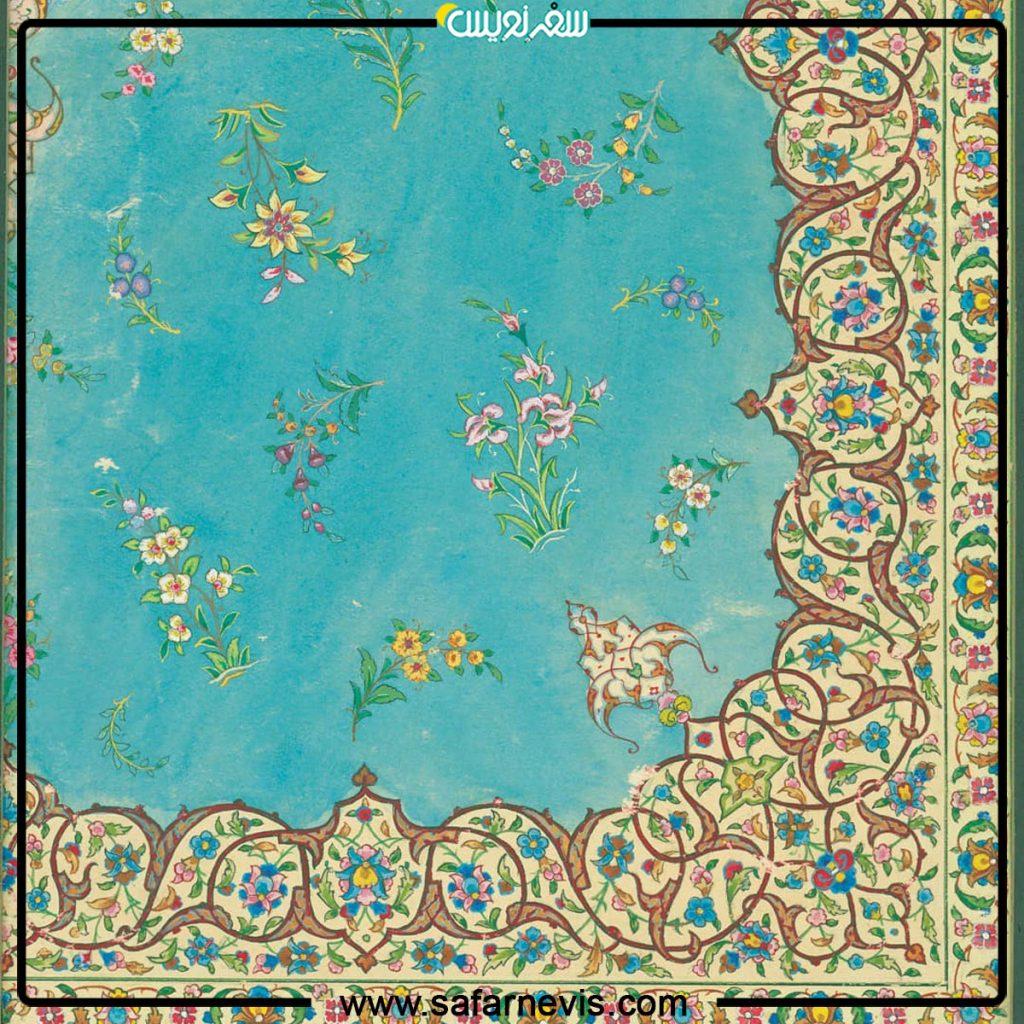 قالی اثر ماشااله بهرمند محل نگهداری موزه فرش