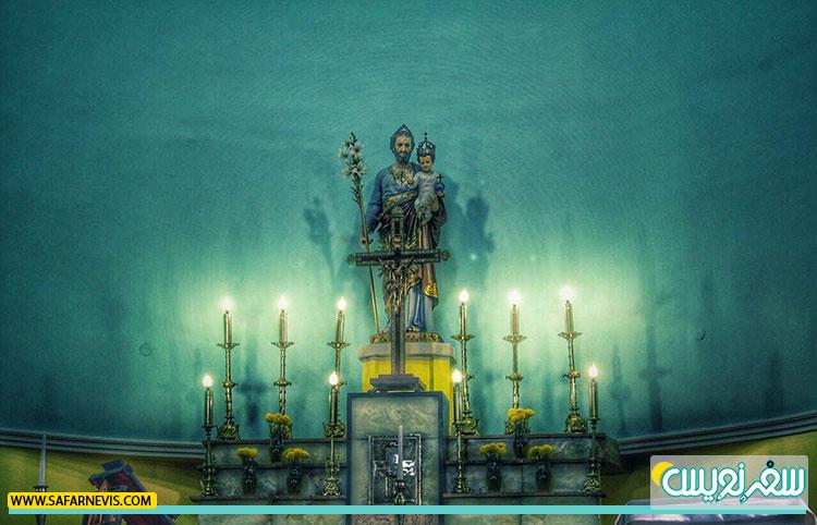 تور بازدید و عکاسی از کلیسای سنت جوزف و پرسه در خیابان فرصت