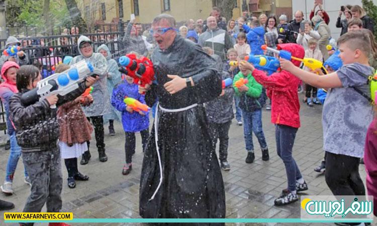 جشن آب پاشی وارداوار و نوسردیل مبارک