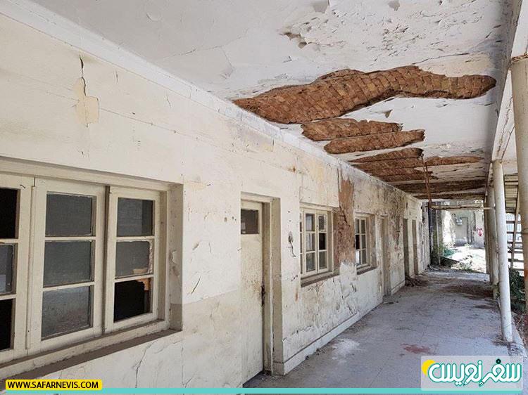 تیمارستان چهرازی در حال تخریب