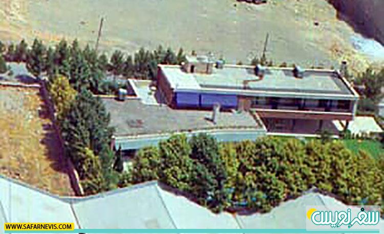 خانه دکتر چهرازی قبل از تخریب در غرب تیمارستان چهرازی